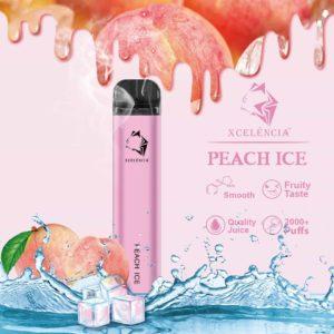 Gunnpod 2000 puffs - Peach Ice