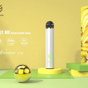 JS Vape-Only-Me-1500-Puff-Banana-Ice