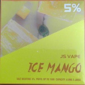 JS Vape Only Me 1500 Puff Ice Mango