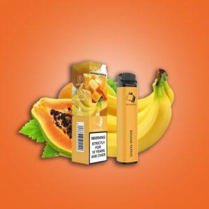 Gunnpod 2000 puffs - Banana Papaya