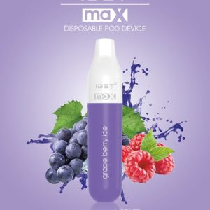 IGET Max 2300 Puff - Grape Berry Ice