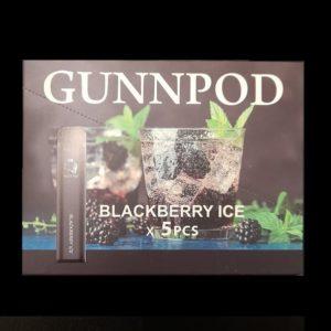 Gunnpod 2000 puffs - Blackberry Ice